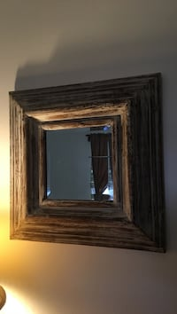 wood framed mirror Winsted, 06098