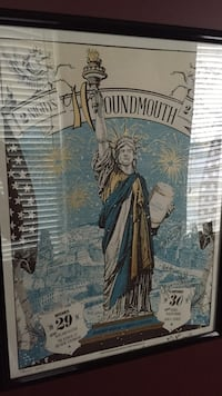 Autographed houndmouth poster Louisville, 40204
