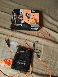 orange iSport earbuds with box Winchester, 22603