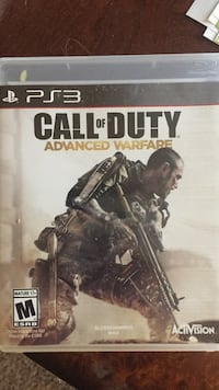 Call of Duty Advanced Warfare PS4 game case Clemson, 29631