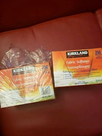 Kirkland fabric softener sheets  Toronto, M1B 2P4