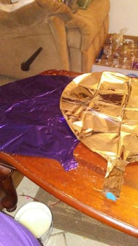 150 milar ballons purple and silver hearts Palm Bay, 32909