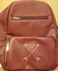 Thirty-One Boutique Backpack - Merlot