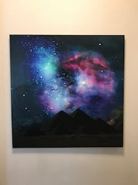 The Night Sky Canvas Painting Lubbock, 79410