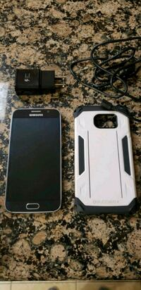 black Samsung android smartphone with case Paramount, 90723