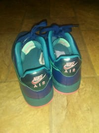 pair of blue-and-green Nike sneakers Augusta, 30906