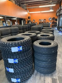 Off Road Mud Terrain Tires All Sizes All Brands Milpitas, 95035