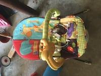 Jungle sounds bouncy seat with vibration Ipswich