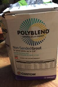 10lb Polyblend grout non sanded  Alexandria, 22303