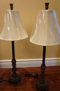 Bronze Table Lamps (2)
