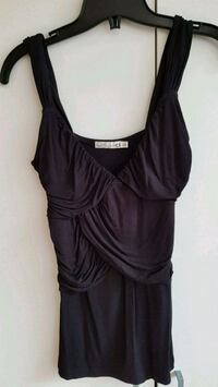 Black sleeveless top - size S Toronto, M5S 3A5