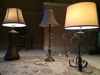 3 lamps for 25$ Fairfax, 22030