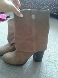 Sz 9 Vince Camuto leather boots Ottawa