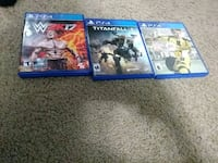 two Sony PS4 game cases Laurel, 20708
