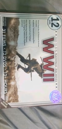 ww2 DVD set from national archives