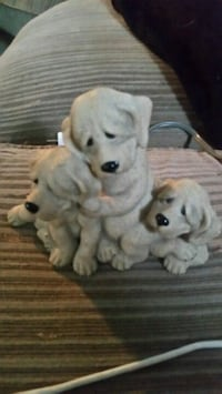 two white short-coated puppies Hamilton