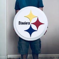 Steelers 3D wood wall art  Sacramento, 95835