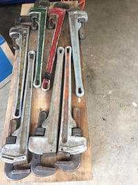 24 Aluminum pipe wrenches   Red Deer, T4P 1N6