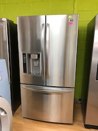 LG stainless steel side by side refrigerator  Woodbridge, 22191