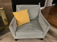 Seafoam Arm Chair (Yellow pillow not included) Fort Washington, 20744