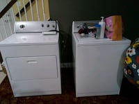 white washer and dryer set Broadlands, 20148