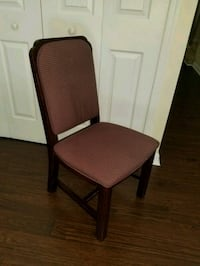 brown wooden framed brown padded chair Hagerstown, 21742