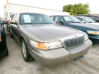 2001 MERCURY GRAND MARQUIS 1 OWNER Houston