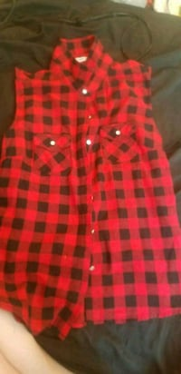 Plaid sleeveless top Winnipeg, R2W 2J9