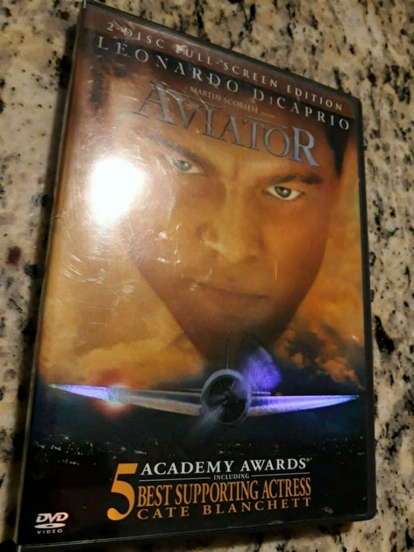 The Aviator DVDs Movie with Leonardo DiCaprio! ! 01c5c92e-caf5-408b-84db-460135f41e97