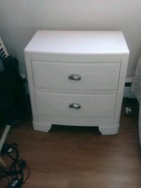 White Bedside Table - great condition Regina, S4R 0P2
