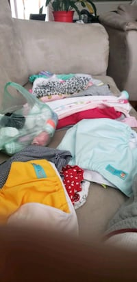baby girl onesies and socks like new  Virginia Beach, 23462
