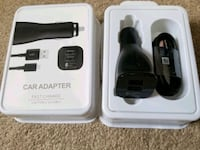 Samsung Dual USB Car Fast Charger Type C Cable set $18 Mississauga, L5W 0E7