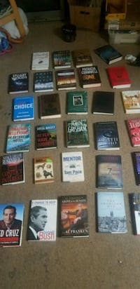 Hardcover books alot of them 3 for $10 Concord, 03301