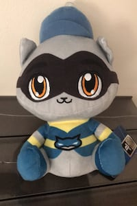Sly cooper plush out of production