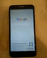black LG Android smartphone with box 1951 mi