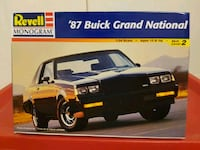Revell 1987 Buick Grand National Toronto, M8W 4A2