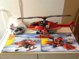 Lego Creator Motion Power battery operated helicopter #4895