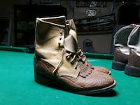 pair of brown leather boots Delhi, 95315