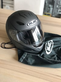 black HJC full-face helmet Arlington, 22202