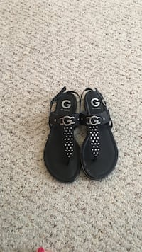 pair of black leather shoes Hagerstown