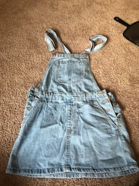 Denim overall dress  Houston, 77396
