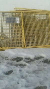 Construction site fencing for sale Calgary