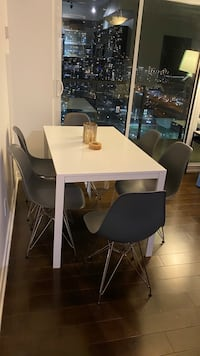 Dining Table and 6 Chairs Eiffel Set EXCELLENT CONDITION  Toronto, M5V