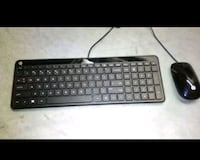 Brand New HP Keyboard & Mouse Set Downey, 90241