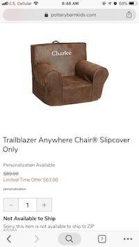"Pottery Barn Kids ""Trailblazer Anywhere Chairs"" Des Moines, 50309"