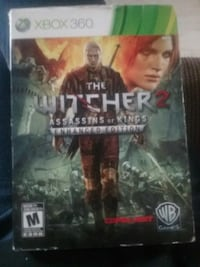 Xbox 360 game the Witcher 2 assassin's of kings