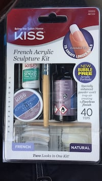 Kiss French acrylic sculpture kit pack