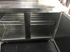 Commercial refrigerator sand which station