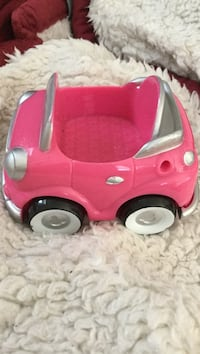 Pink toy car - Minnie/Mickey Mouse head on floorboard Winter Haven, 33881