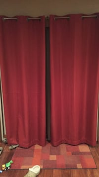 Set of 2 lined curtains Saint Michael, 55313